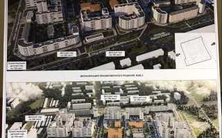 Стартовые площадки Фили-Давыдково для реновации карта, адреса